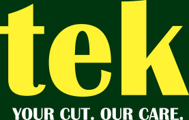 tek-speed knife. your cut. our care.